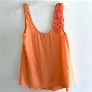 Urban Outfitters Ecote Silk Tank Size M
